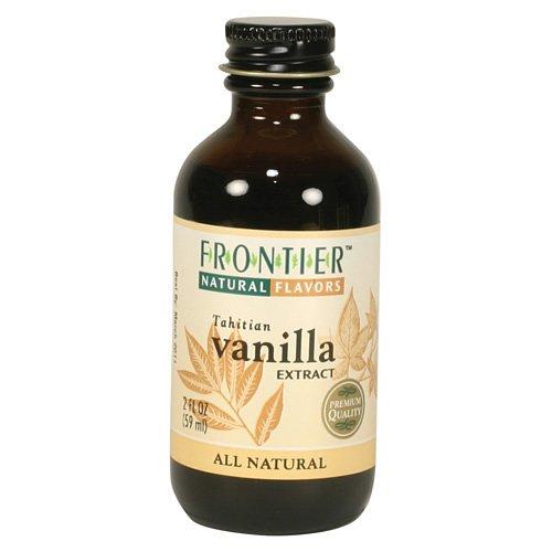 Frontier Vanilla Extract, Tahitian, 2-Ounce Bottle front-407846
