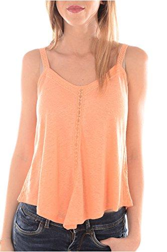 Guess Top-w61p41K4ea0-Donna arancione L