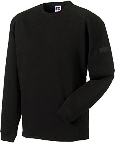 russell-collection-strapazierfahiges-sweatshirt-mit-rundhalsausschnitt-r-013m-0-xlblack