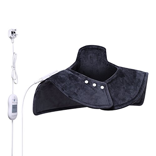 iguerburn-neck-and-shoulder-electric-heating-pad-100w-53-x-49cm-grey-machine-washable-relieve-arthri