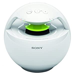 Sony SRSBTV25 Bluetooth Wireless Speaker for SmartPhone/iPhone/iPad - White