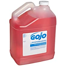 GOJO 1847-04 Pink Antimicrobial Lotion Soap, 1 Gallon (Case of 4)