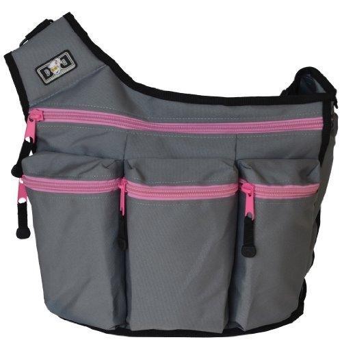 diaper-diva-bag-grey-pink-by-diaper-dude