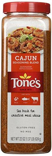 Tones Cajun Seasoning - 22 oz. shaker