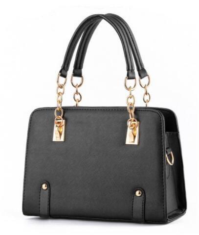 estate-alla-moda-modelli-lady-catena-tracolla-messenger-handbag-black