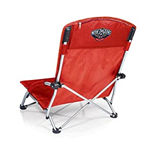 New Orleans Pelicans Beach Chair Foldable Tranquility Seat