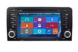 See Crusade Car DVD Player for Audi A3 2003- Support 3g,1080p,iphone 6s/5s,external Mic,usb/sd/gps/fm/am Radio 7 Inch Hd Touch Screen Stereo Navigation System+ Reverse Car Rear Camara + Free Map Details