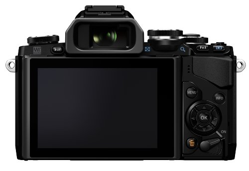 Olympus OM-D E-M10 16MP Mirrorless Digital Camera with 14-42mm F3.5-5.6 Lens (Black)