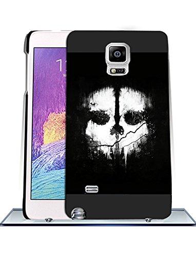 Call Of Duty Ghosts Logo Samsung Note 4 CustodiaCase - Durable CustodiaCase & Cover {Drop Proof} +{Impact Resistant} CustodiaCase for Samsung Galaxy Note 4