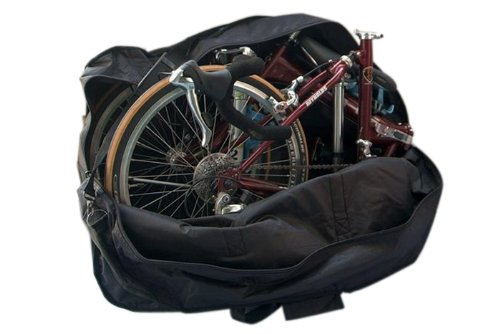 Enjoydeal 14-inch to 20-inch Thick Bike Bicycle Folding Bike Carrier Bag Carry Bag Pouch