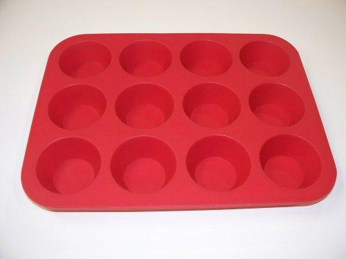 12 Cup Silicone Mini Muffin Pan