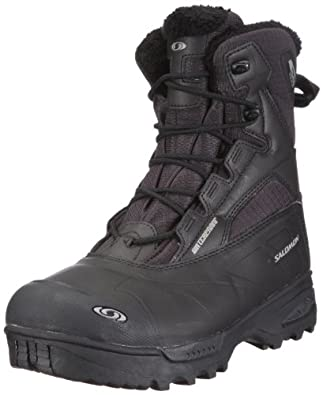 Salomon Tundra Mid Waterproof Boot - Men's Boots 10.5 Asphalt/Blk/Blk