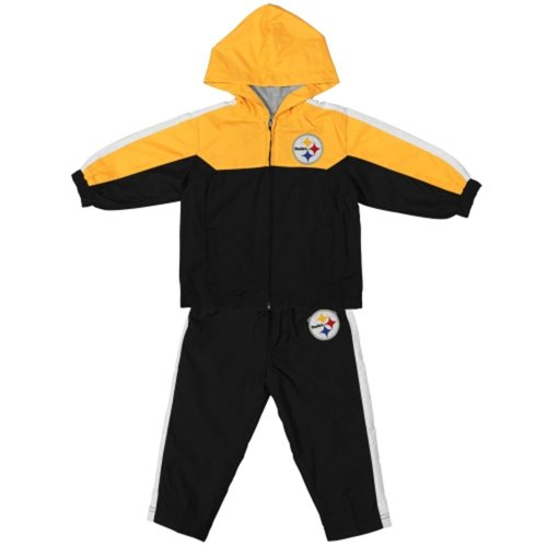 NFL Pittsburgh Steelers Toddler Black Full-Zip Jacket   Pant Set from NFL  at Steeler Mania d9a4adc2d