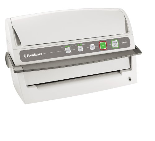 Review FoodSaver V3240 Vertical Vacuum Sealer, White