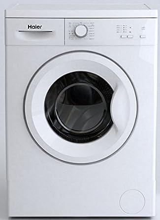 Haier HW50-10F1 machine à laver - machines à laver (Autonome, Charge avant, A+, C, Acier inoxydable, Gauche)