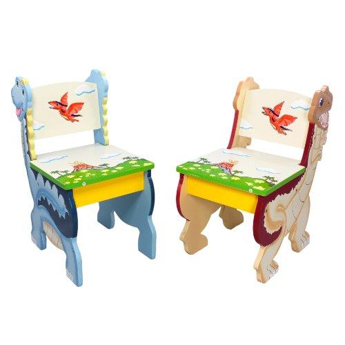 Fantasy Fields - Dinosaur Kingdom Set of 2 Chairs