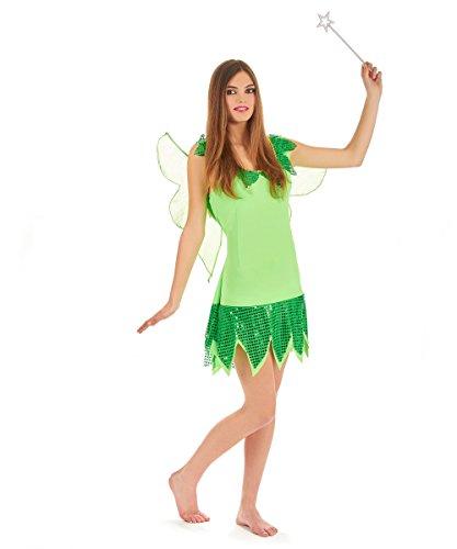Green Fairy Costume For Girls