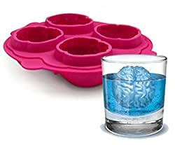 GeekGoodies Brain Ice Cube Freeze Tray