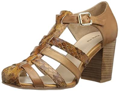 ALL BLACK Women's Glad High Sandal,Camel,37 EU/6.5 M US