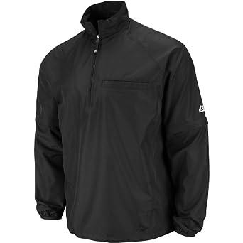 Buy Majestic Mens 1Ju4 1 4 Zip Unlined Umpire Jacket by Majestic