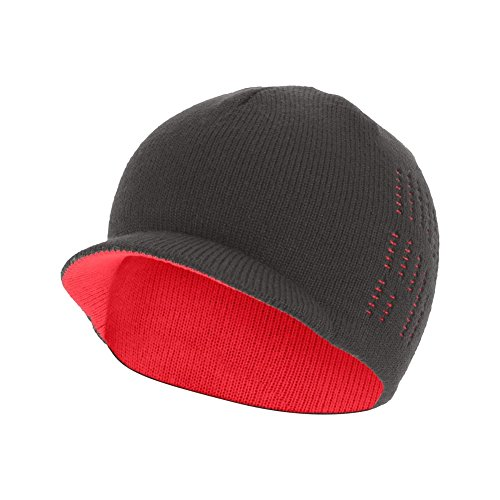 The North Face Slopeside Beanie Youth Graphite Grey/Rocket Red M