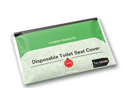 buy grasshopr sanitary disposable toilet seat covers protection in public rest rooms set of 30 sheets online at low prices in india amazonin