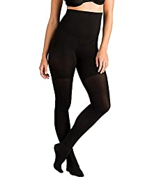 Spanx Tight-End Tights® High-Waisted Body Shaping Tights, 167, Black, C