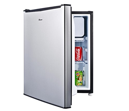 Amana 2.7 Cu ft. Refrigerator - Faux Stainless Steel 022W007903690001P HOME / OFFICE / DORM ROOM Refrigerator (Stainless Dorm Refrigerator compare prices)