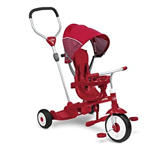 Radio Flyer Ride and Stand Stoll 'N Trike Ride On