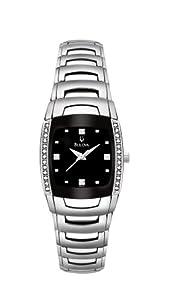 Bulova Women's 96R40 Diamond Accented Watch