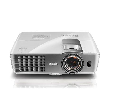 BENQ 9H.J7M77.17E W1080ST DLP 1080p 2000 Lumens short throw home entertainment / home cinema projector 10W speaker - (Projectors Projectors)