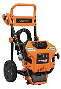 Generac 6412 OneWash 2,000-3,000 PSI 2.8-GPM 4-in-1 PowerDial 212cc Gas Powered Residential Pressure Washer (Discontinued by Manufacturer)