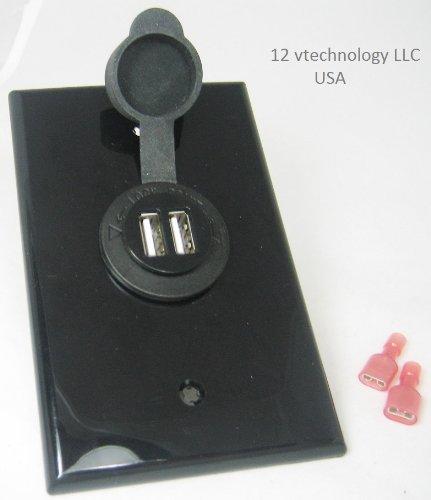 Duel USB Charger 12 Volt to 5 Volt Accessory