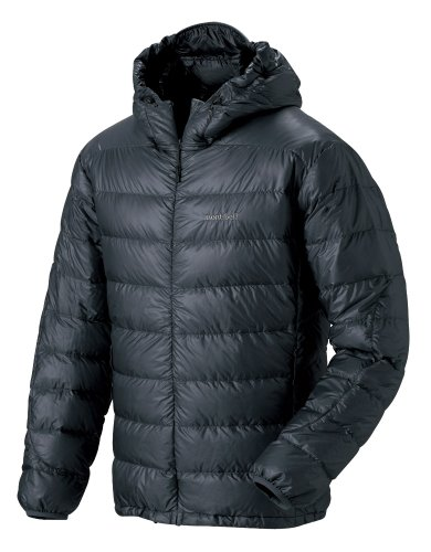 (モンベル)mont-bell U.L. Down Guide Parka Men's 1101384 CHBK チャコールブラック XL