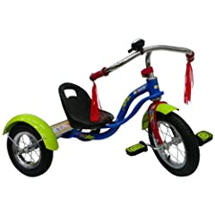NASCAR Large Wheel Trike, Blue Green by NASCAR