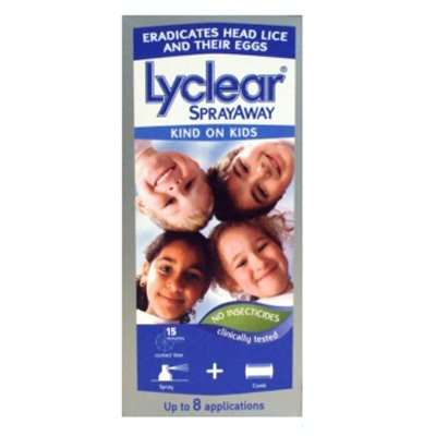 Lyclear Sprayaway Headlice Treatment 100ML