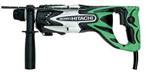 Hitachi DH24PF3 15/16-Inch 7 Amp SDS Rotary Hammer with D-Handle
