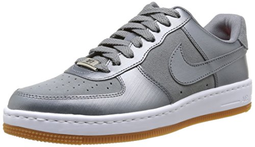 Nike Wmns Air Force 1 Airness Scarpe sportive, Donna, Multicolore (Cool Grey/Cool Grey), 39