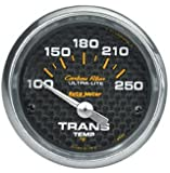Auto Meter 4757 Carbon Fiber Electric Transmission Temperature Gauge