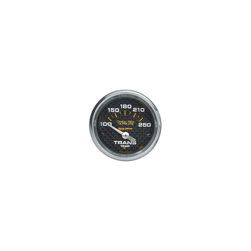 Auto Meter 7657 Sport-Comp II 2-5//8 100-250 F Short Sweep Electric Transmission Temperature Gauge