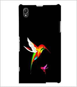 PrintDhaba Bird D-1226 Back Case Cover for SONY XPERIA Z1 (Multi-Coloured)