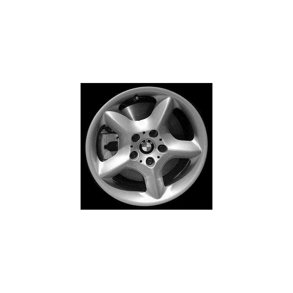 01 03 BMW X5 ALLOY WHEEL RIM 17 INCH SUV, Diameter 17, Width 7.5 (5 SPOKE), 40mm offset, SILVER, 1 Piece Only, Remanufactured (2001 01 2002 02 2003 03) ALY59331U10