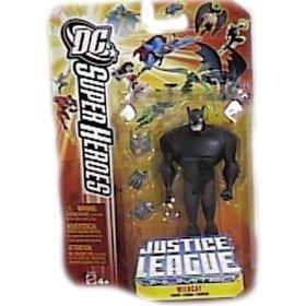Buy Low Price Mattel DC Super Heroes Justice League Unlimited Action Figure Wildcat (B000EGF00A)