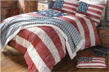 American Flag Red White Blue Comforter Amp Bedding Sets