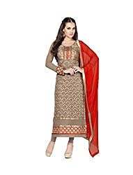 Amyra Women's Georgette Dress Material (AC787-02, Grey)