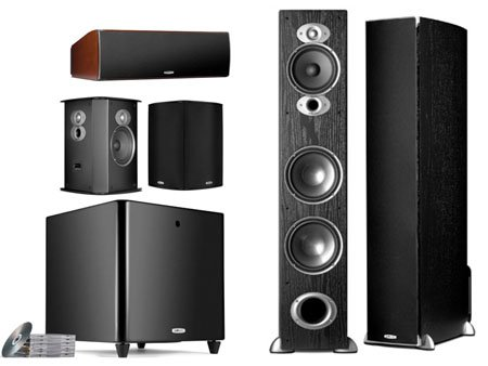 Polk Audio RTiA7 Home Theater System Black Color.