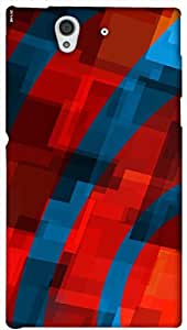Timpax protective Armor Hard Bumper Back Case Cover. Multicolor printed on 3 Dimensional case with latest & finest graphic design art. Compatible with Sony L36H - Sony 36 Design No : TDZ-23623