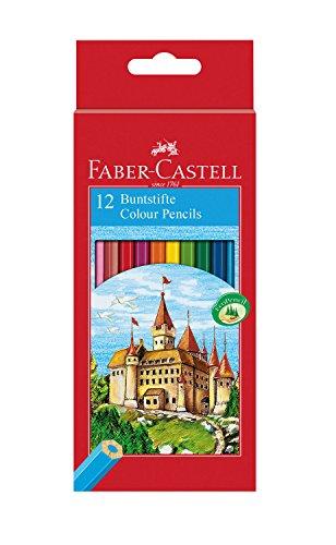Faber-Castell - FABER-CASTELL crayons de couleur hexagonal CASTEL,