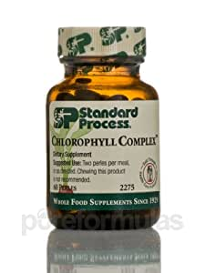 Standard Process - Chlorophyll Complex 60 perles