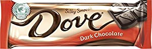 Dove Dark Chocolate Singles, 1.44-Ounce (Pack of 18)